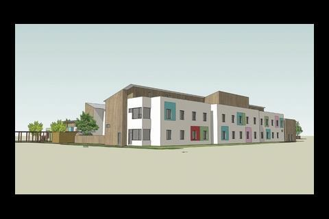A £23m mental health unit designed by Devereux Architects or Kier Eastern in Suffolk. This was a Procure 21 job
